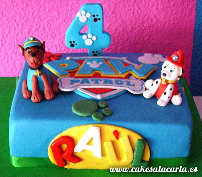 Patrulla canina para ra l cakes cupcakes y cookies en - Decoracion de la patrulla canina ...
